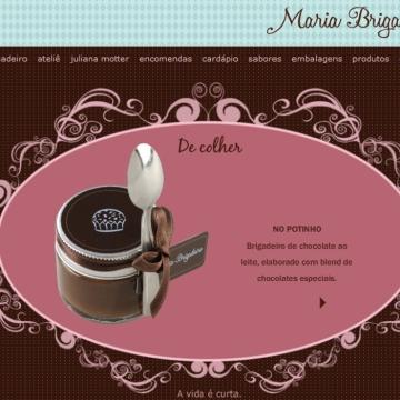 Brigadeiro de colher da Maria Brigadeiro