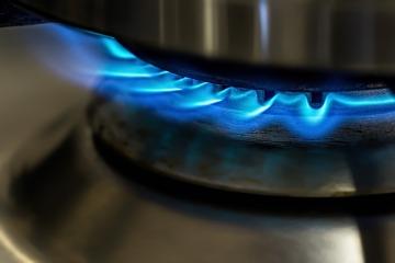 dominando a chama de um fogão novo