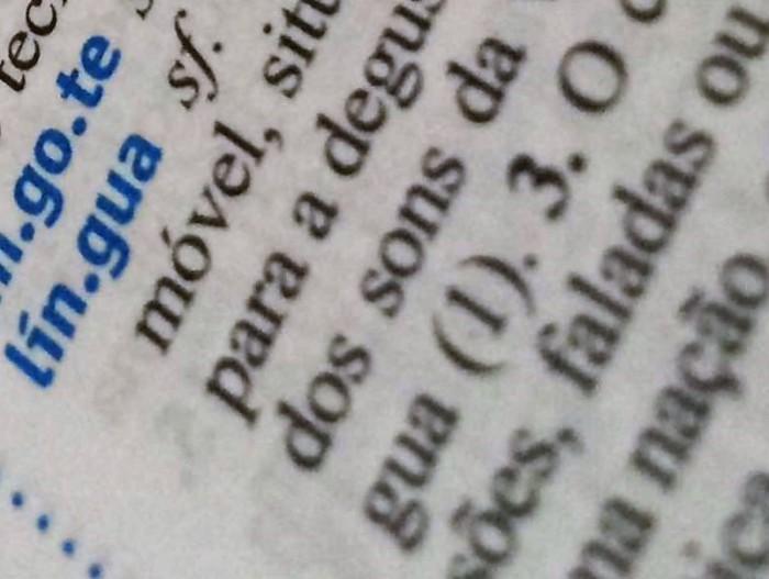 Língua, gosto, palavra (foto do Pexel)
