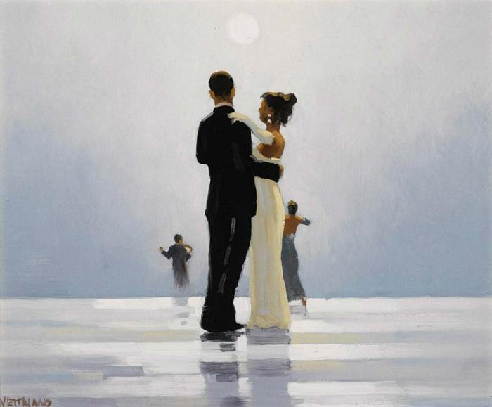 Jack Vettriano, Dance me to the end of love (1998)
